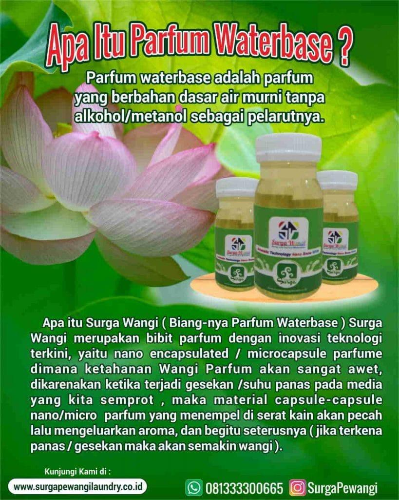 apa itu parfum waterbase dan biang parfum waterbase 819x1024 - Parfum Laundry Waterbase Wangi Surga Dan Biang Parfum Water Based Merk Surga Wangi