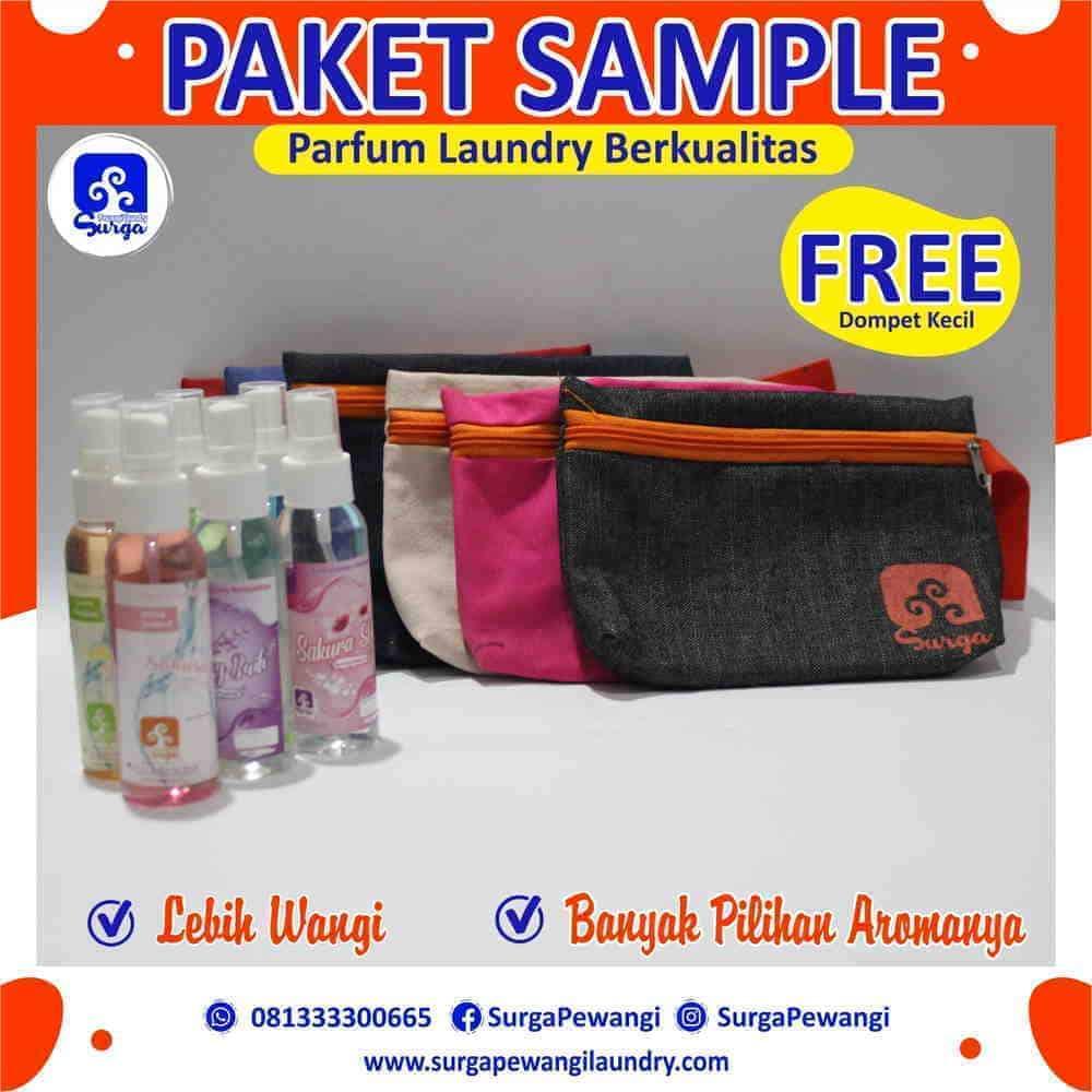 Paket Sample Parfum Laundry Aneka Aroma - Parfum Laundry Kiloan Apa Saja Macam Aromanya?