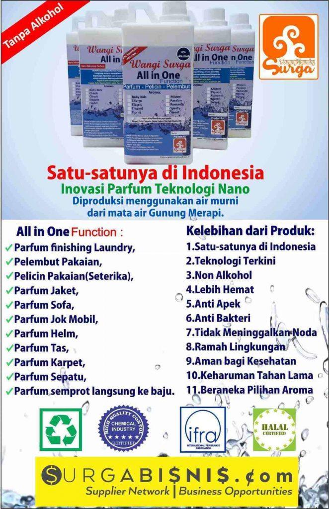 parfum laundry waterbase tanpa alkohol