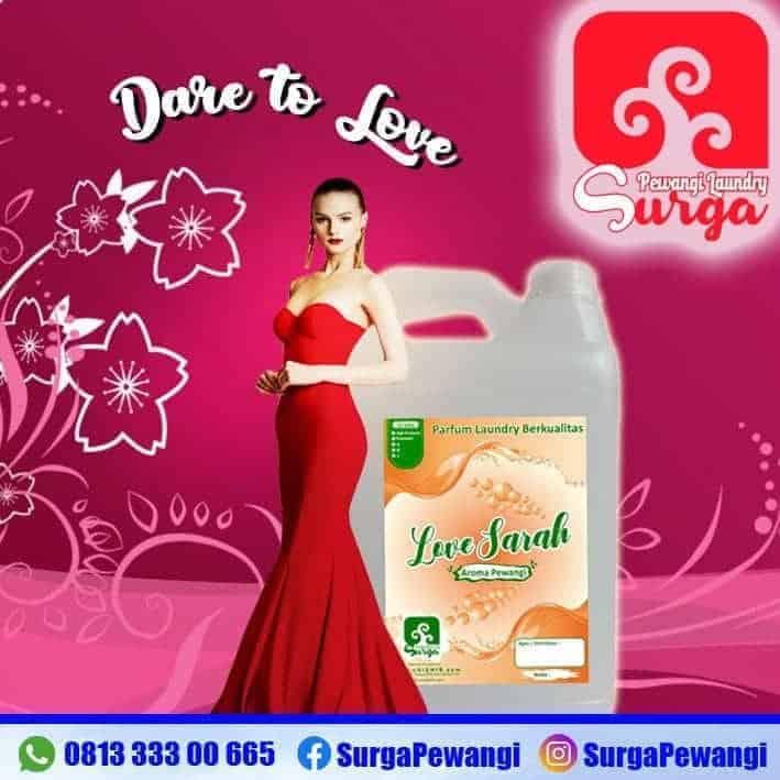 parfum laundry aroma love sarah - Aroma Parfum Laundry Terlaris