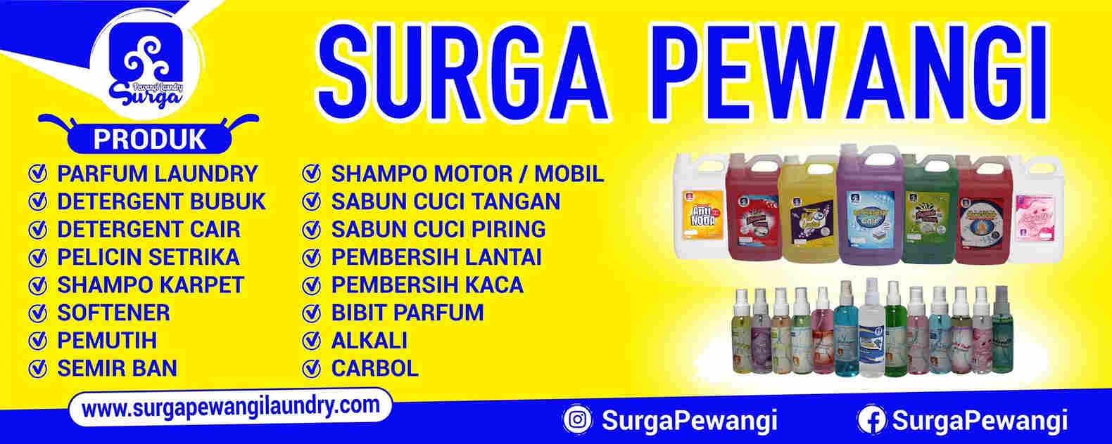 Produsen Parfum Laundry & Kimia By: Surga Pewangi Laundry
