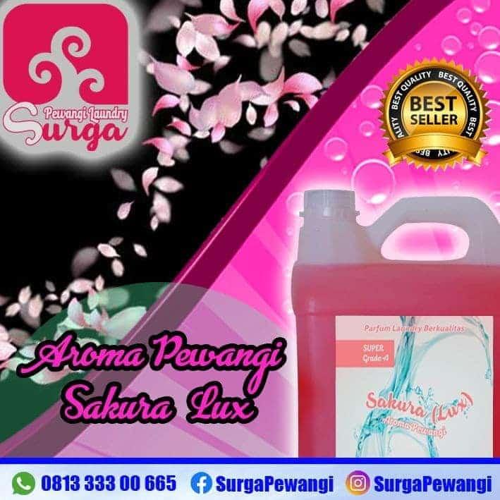 parfum laundry sakura - Parfum Laundry Sakura yang Paling Wangi Merk Surga Pewangi Laundry