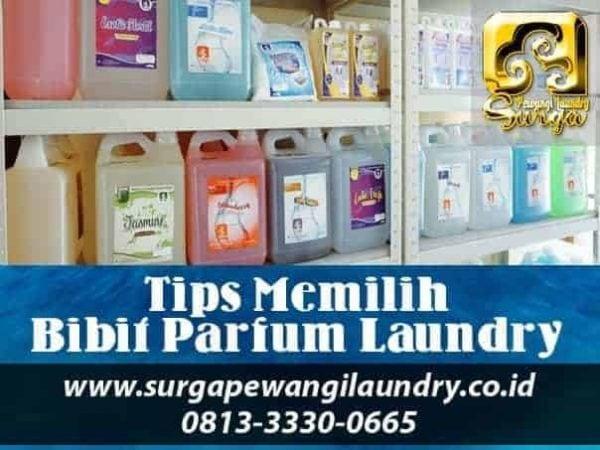 tips memilih bibit parfum laundry