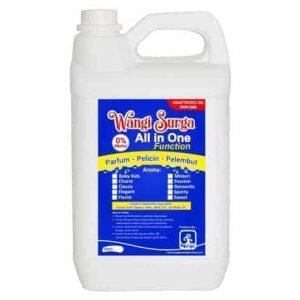Parfum Waterbase Multi Fungsi (Non Alkohol) 5 liter