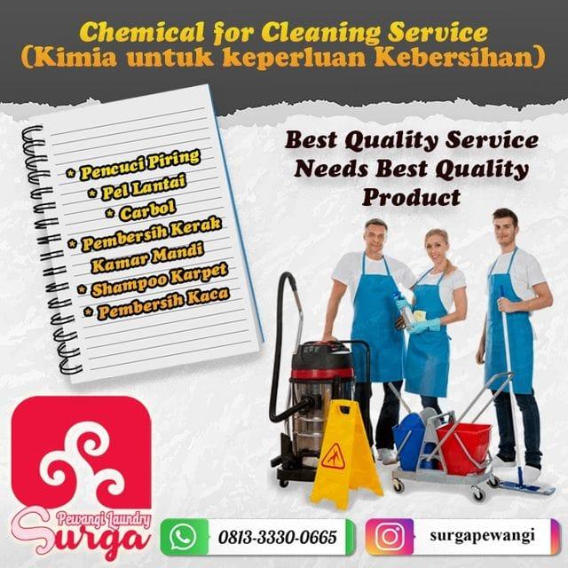KIMIA CLEANING SERVICE 1 - Pewangi Laundry/Parfum Laundry | Agen, Distributor, Merk & Harga Jual