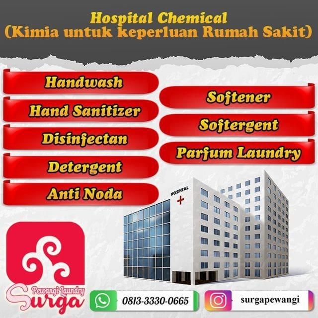 KIMIA LINEN LAUNDRY RUMAH SAKIT 1 - Pewangi Laundry/Parfum Laundry   Agen, Distributor, Merk & Harga Jual