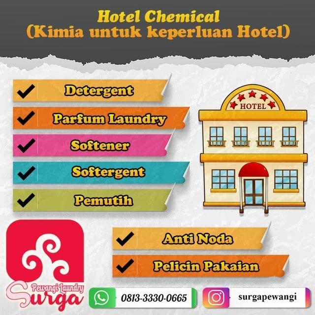 KIMIA ROOM SERVICE HOTEL 1 - Pewangi Laundry/Parfum Laundry   Agen, Distributor, Merk & Harga Jual