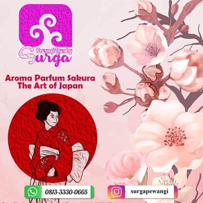 pewangi sakura - Pewangi Laundry/Parfum Laundry | Agen, Distributor, Merk & Harga Jual
