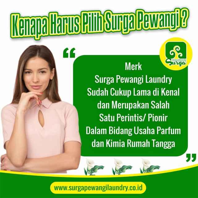 surga pewangi - Pewangi Laundry/Parfum Laundry | Agen, Distributor, Merk & Harga Jual