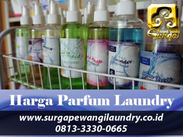 Harga parfum laundry