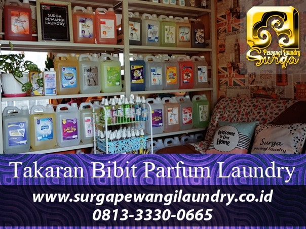 Membuat Bibit Parfum Laundry