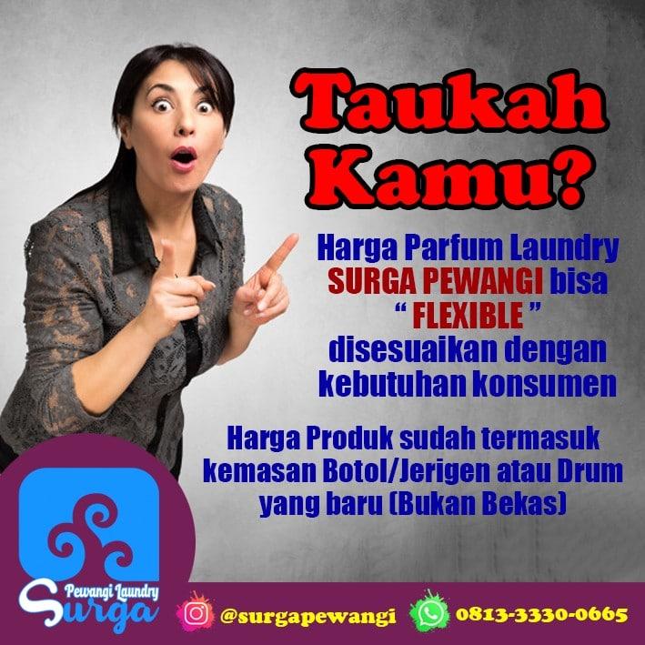 Taukah Kamu - Parfum Laundry Mawar Varian Paling Wangi & Tahan Lama