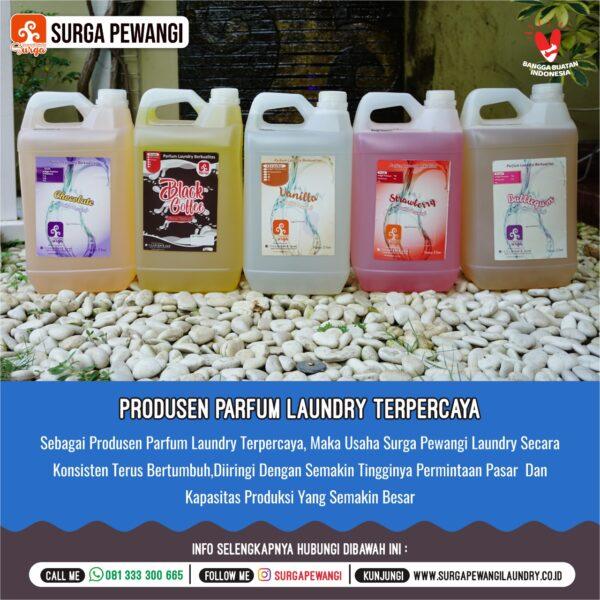 Parfum Laundry Yogyakarta