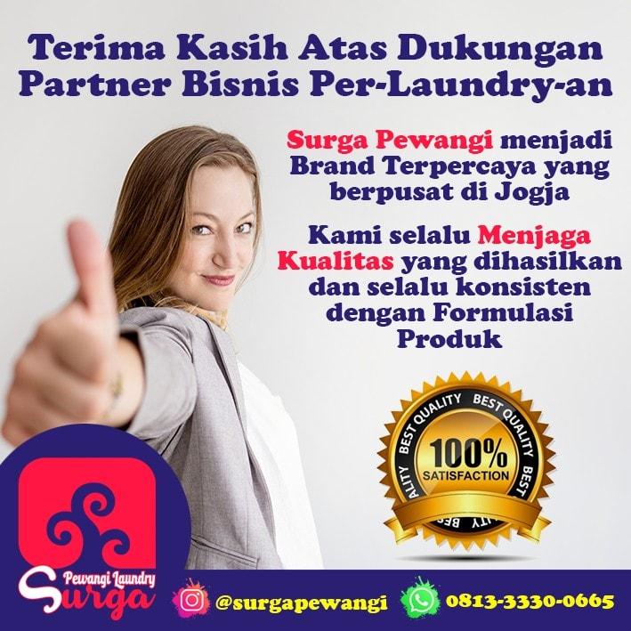 Brand Terpercaya - Pabrik Pewangi Laundry Surga Paling The BEST se- Indonesia