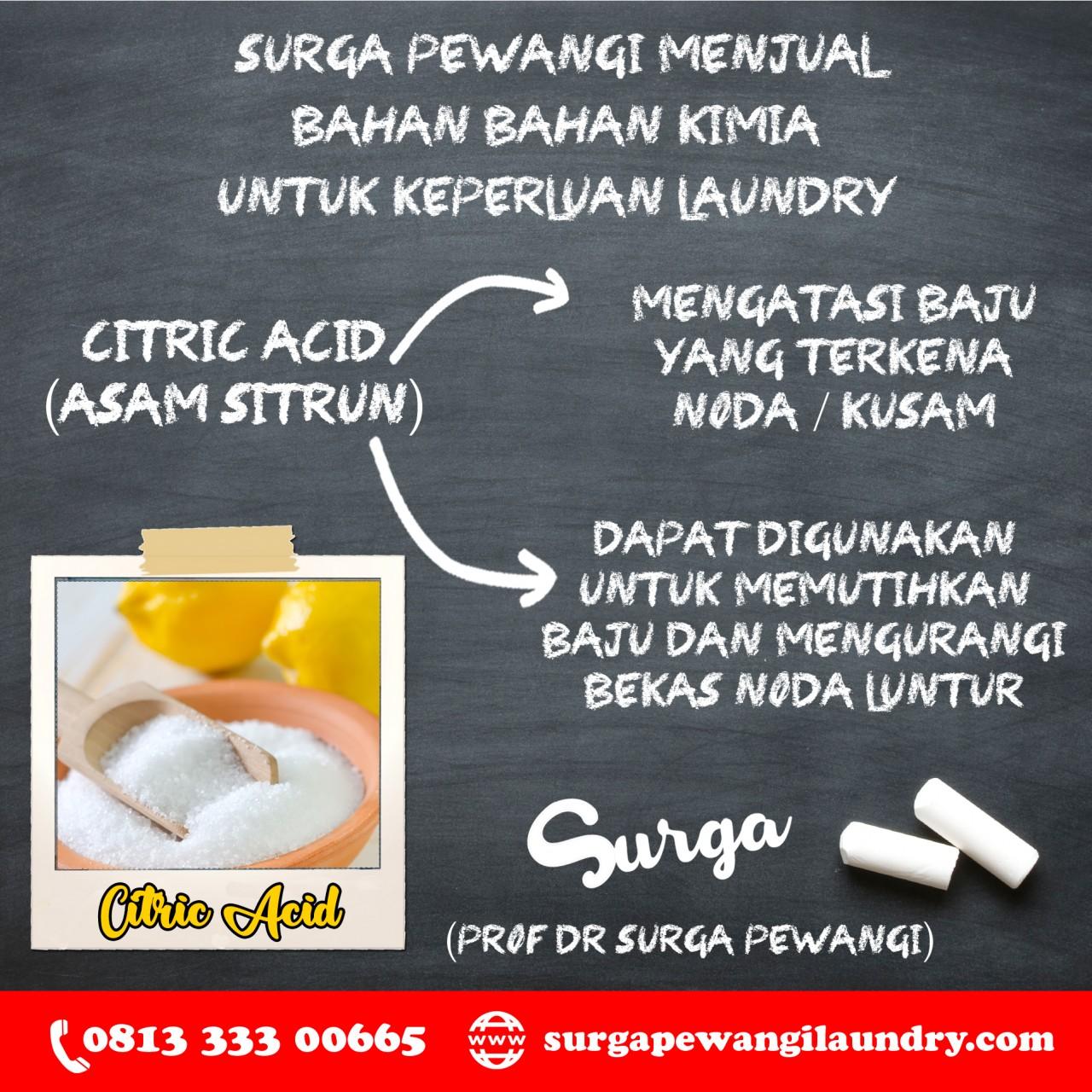 Citric Acid 1280x1280 - Deterjen Laundry Hotel - Rahasia Baju Rapih Wangi Mewah