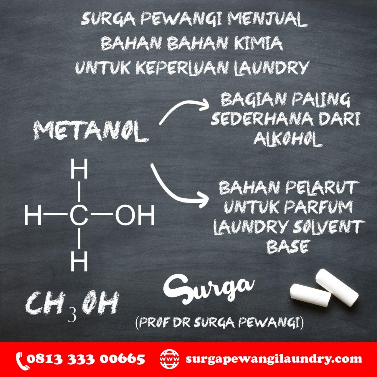 Metanol 1 1280x1280 - GAK PAKE BOHONG ! Pabrik Parfum Laundry TerHarum