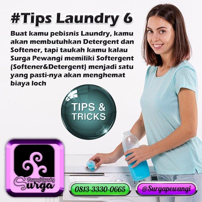 Tips 6 Laundry - Rawat Pakaian Dengan Deterjen Laundry Yang Bagus