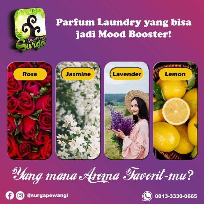 Produsen Parfum Laundry Wangi Buah